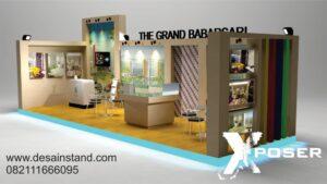 desain booth pameran properti
