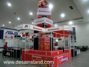 foto booth stand komputer