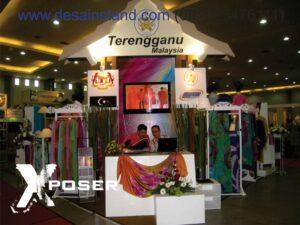 desain booth trengganu malaysia