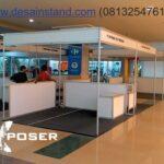 desain stand standar mall