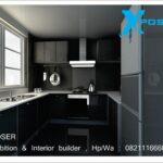 interior dapur dan ruang makan