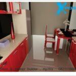 interior dapur dan ruang makan minmalis
