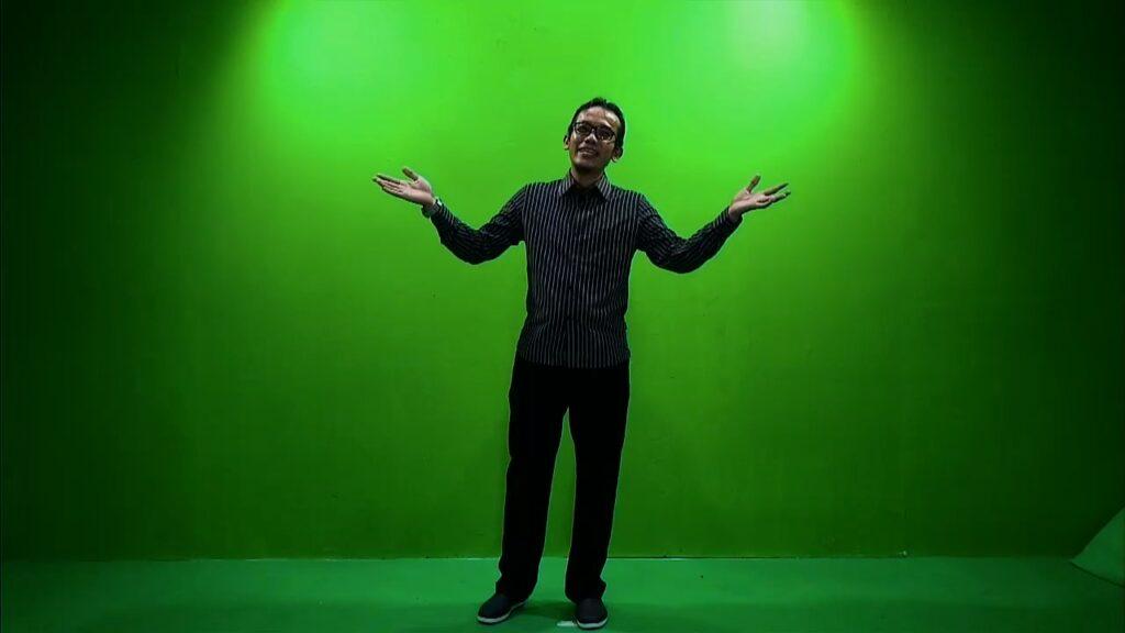 virtual green screen