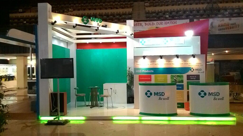 msd booth design
